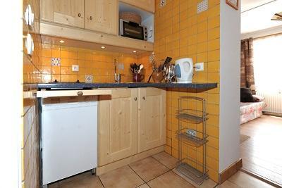 Vacances en montagne Appartement 2 pièces 6 personnes (A5) - Résidence les Lauzes - Les Menuires - Cuisine