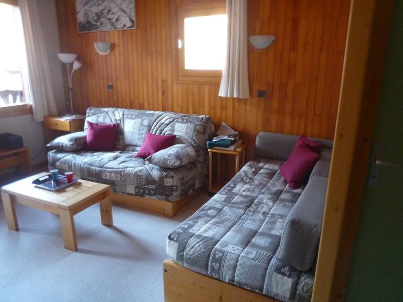 Vacances en montagne Appartement 3 pièces 6 personnes (023) - Résidence les Lauzes - Valmorel - Banquette-lit