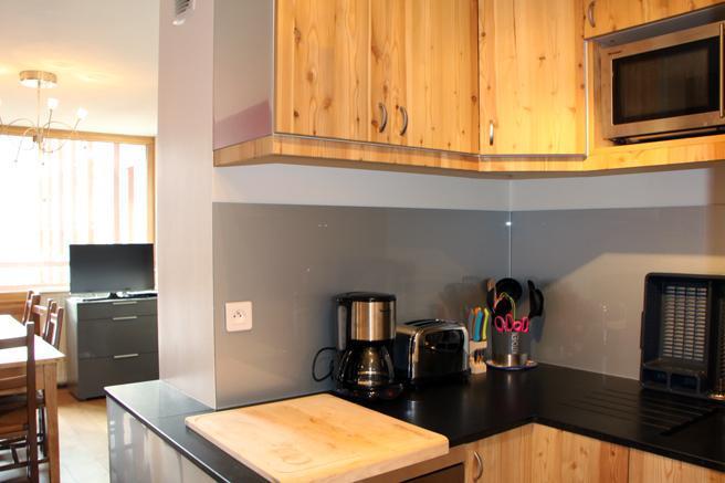 Vacances en montagne Appartement duplex 3 pièces 8 personnes (D1) - Résidence les Lauzes - Les Menuires - Kitchenette