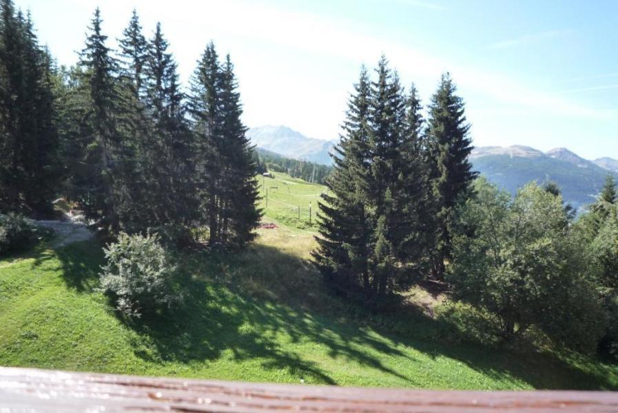 Vacances en montagne Studio coin montagne 5 personnes (604) - Résidence les Lauzières - Les Arcs - Extérieur été