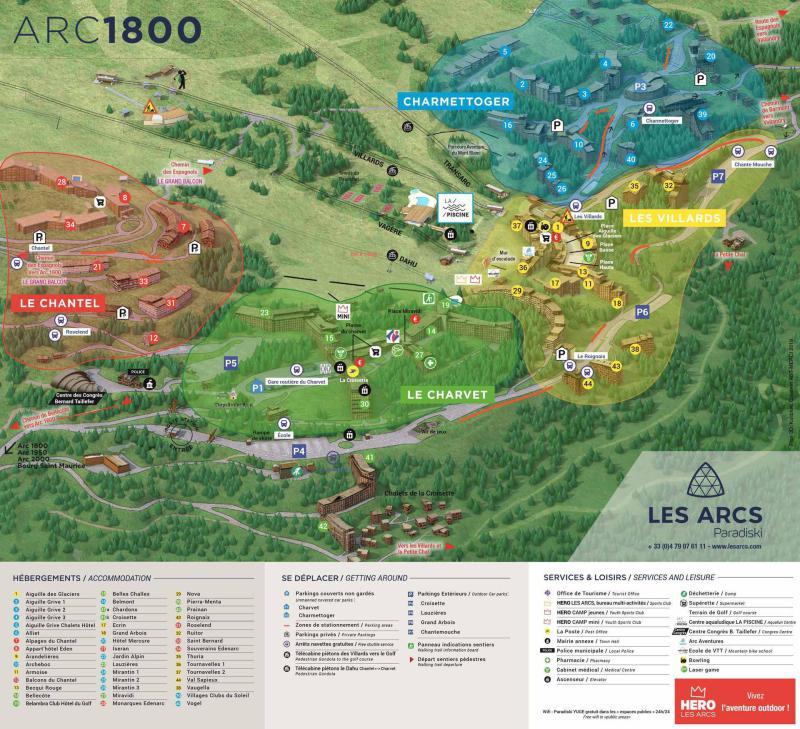 Vacances en montagne Résidence les Lauzières - Les Arcs