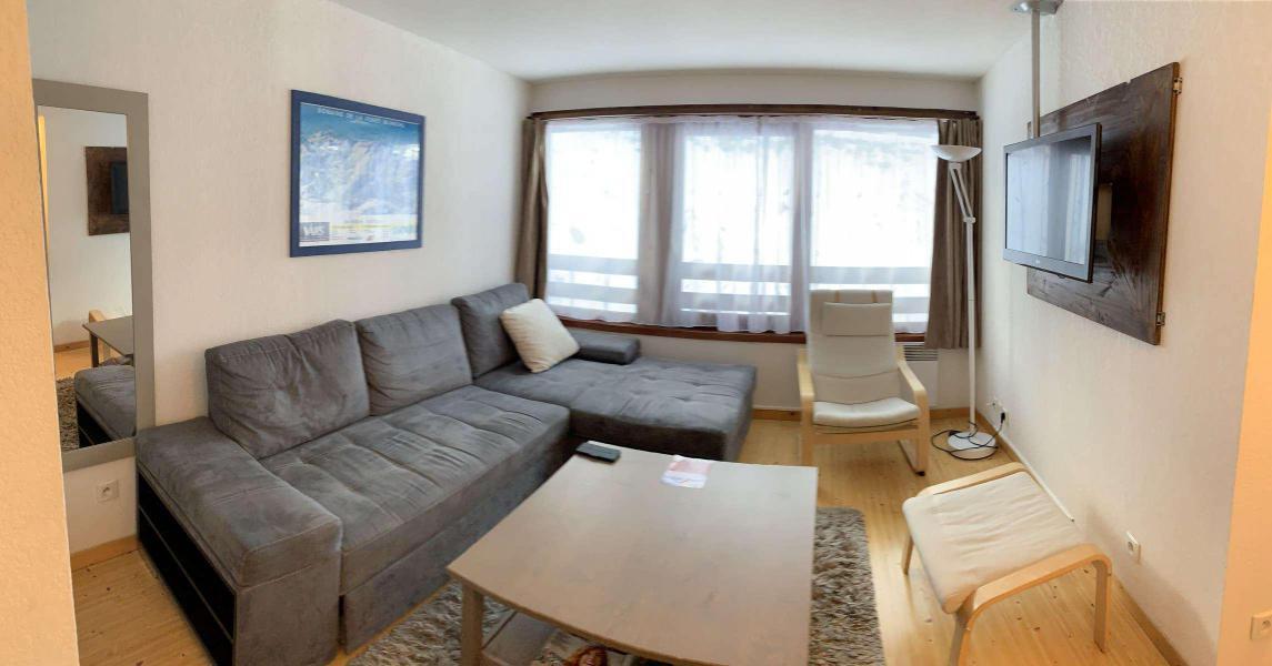 Wakacje w górach Apartament 2 pokojowy 5 osób (80) - Résidence les Lofts de Vars - Vars - Pokój gościnny