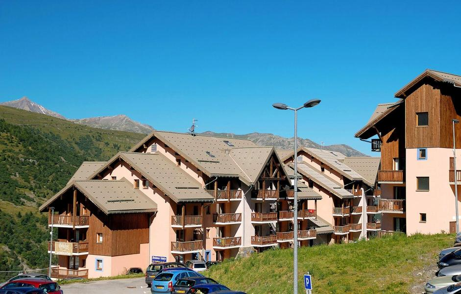 Vacances en montagne Résidence les Lumières des Neiges - Valmeinier - Extérieur été