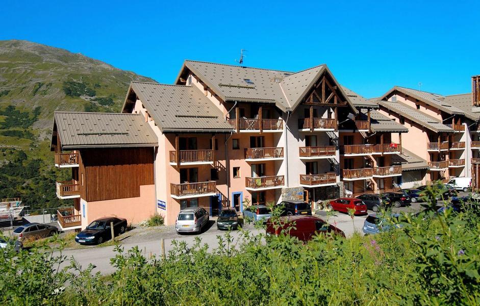 Location au ski Résidence les Lumières des Neiges - Valmeinier - Extérieur été