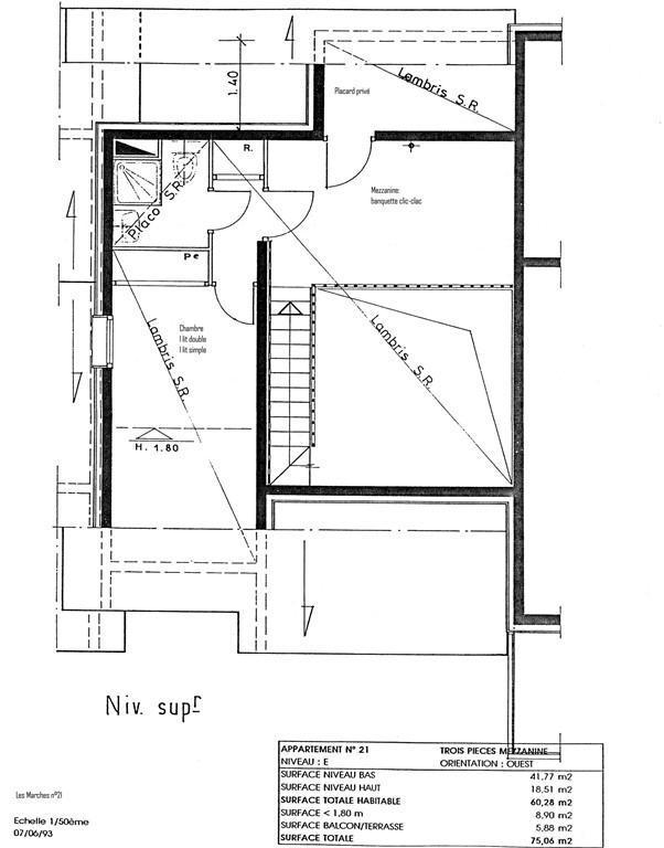 Wakacje w górach Apartament duplex 4 pokojowy 8 osób (G266 n'est plus commercialisé) - Résidence les Marches - Valmorel