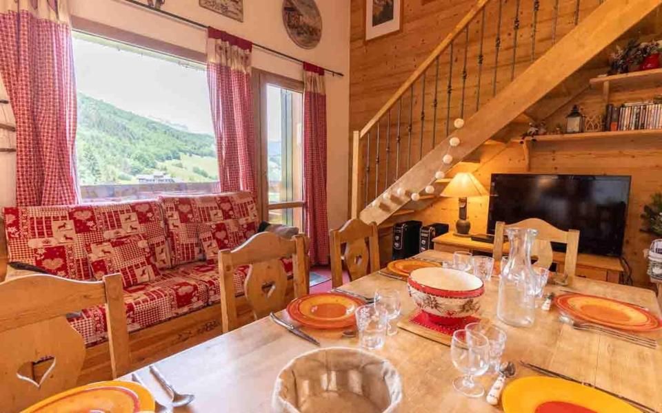 Wakacje w górach Apartament duplex 4 pokojowy 8 osób (G266 n'est plus commercialisé) - Résidence les Marches - Valmorel - Pokój gościnny
