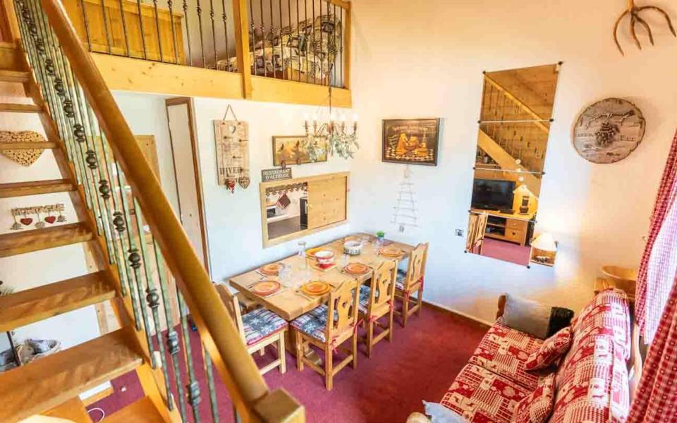 Wakacje w górach Apartament duplex 4 pokojowy 8 osób (G266 n'est plus commercialisé) - Résidence les Marches - Valmorel - Stołem