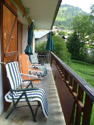 Wakacje w górach Apartament 3 pokojowy z alkową 6 osób (MAR001) - Résidence les Marguerites - Châtel - Balkon