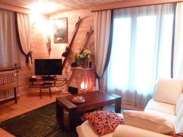 Wakacje w górach Apartament 3 pokojowy z alkową 6 osób (MAR001) - Résidence les Marguerites - Châtel - Pokój gościnny