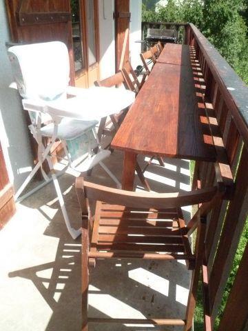 Vacaciones en montaña Apartamento cabina 3 piezas para 6 personas (MAR001) - Résidence les Marguerites - Châtel - Balcón