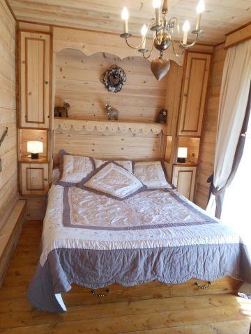 Vacaciones en montaña Apartamento cabina 3 piezas para 6 personas (MAR001) - Résidence les Marguerites - Châtel - Cama doble
