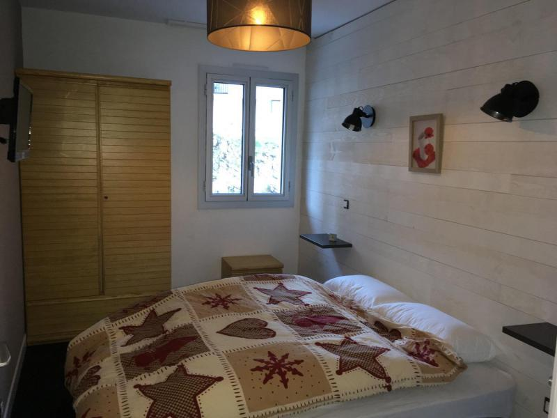 Holiday in mountain resort 2 room apartment sleeping corner 8 people (E3) - Résidence les Marmottes - Gourette - Double bed