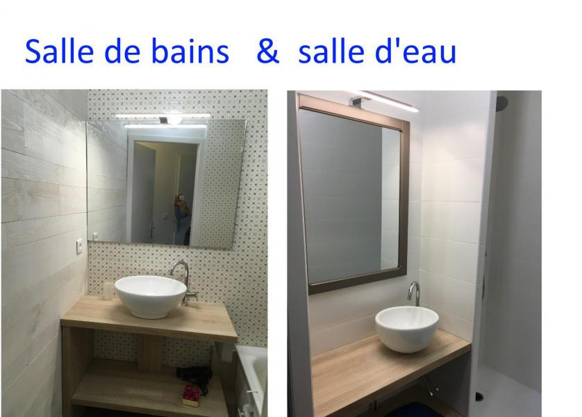 Holiday in mountain resort 2 room apartment sleeping corner 8 people (E3) - Résidence les Marmottes - Gourette - Wash-hand basin