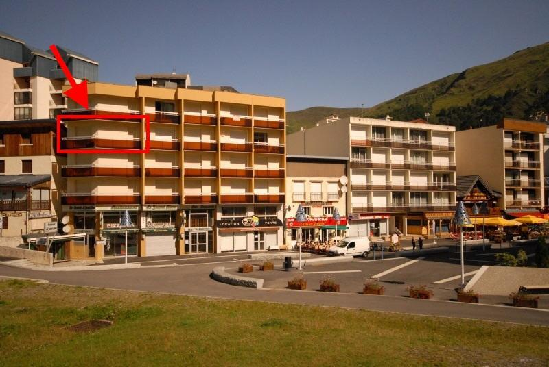Rent in ski resort 2 room apartment sleeping corner 8 people (E3) - Résidence les Marmottes - Gourette - Summer outside