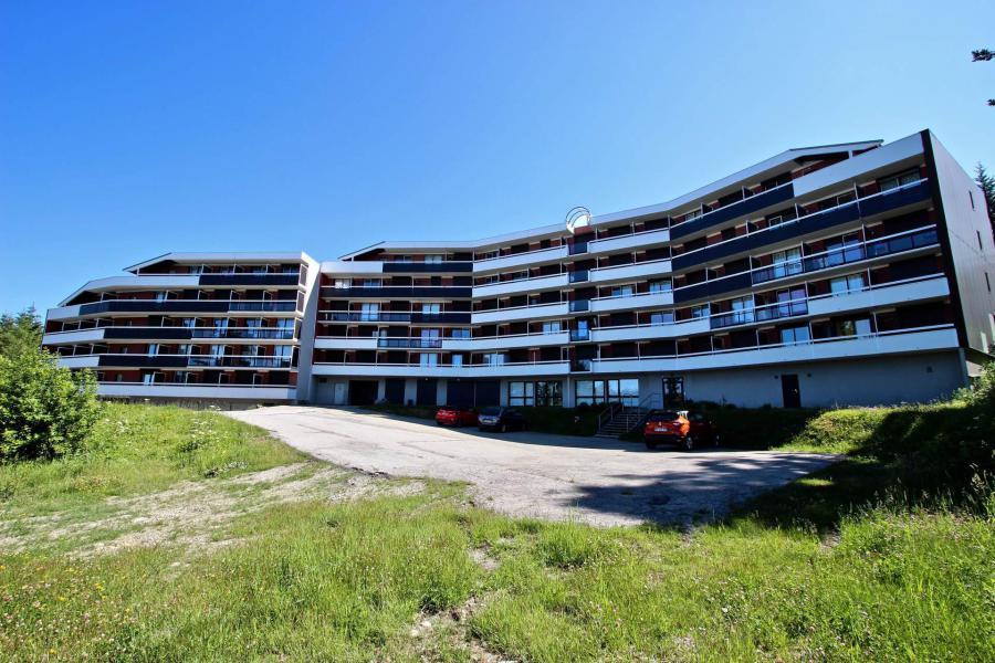 Vacances en montagne Appartement 2 pièces cabine 6 personnes (111) - Résidence les Marmottes A1 - Chamrousse - Extérieur été