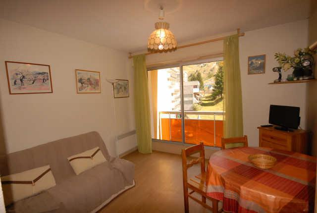 Holiday in mountain resort Studio 4 people (D3) - Résidence les Marmottes - Gourette - Accommodation