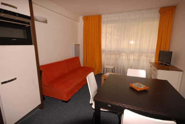 Holiday in mountain resort Studio 4 people (MAR4) - Résidence les Marmottes - Gourette - Accommodation