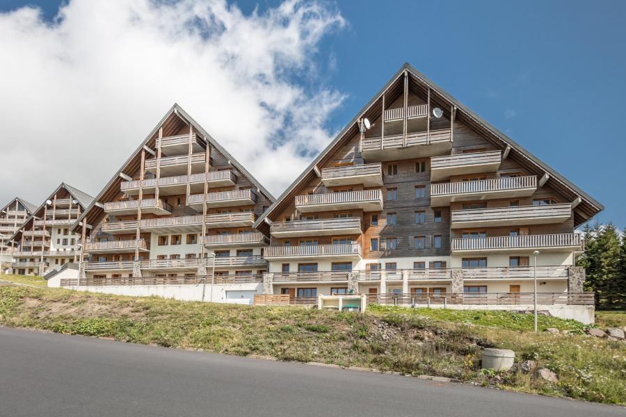 Location au ski Résidence les Matins du Sancy - Super Besse - Extérieur été