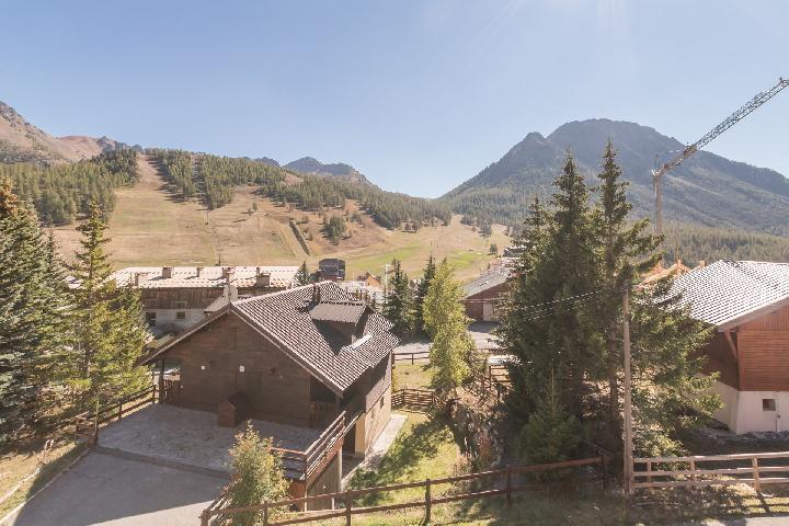 Location au ski Appartement 2 pièces 6 personnes (MEDA) - Residence Les Melezes - Montgenèvre - Extérieur été