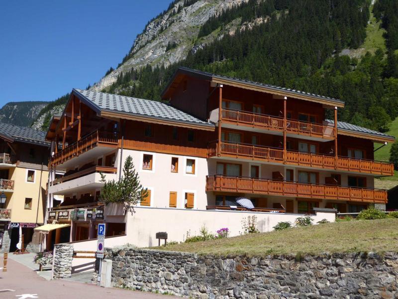 Vacaciones en montaña Résidence les Mélèzes - Pralognan-la-Vanoise - Verano