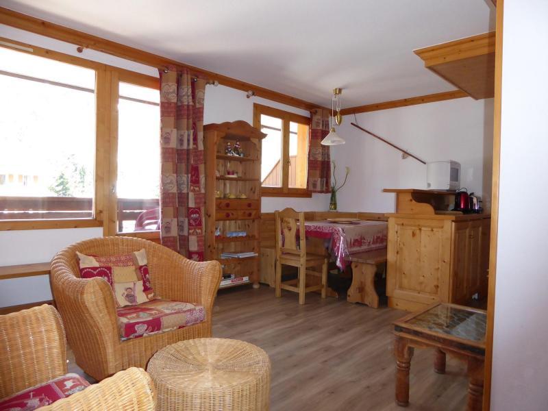 Vacaciones en montaña Apartamento 2 piezas para 4 personas (23) - Résidence les Mélèzes - Pralognan-la-Vanoise - Estancia