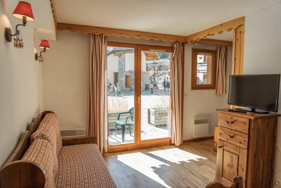 Wakacje w górach Apartament 2 pokojowy 6 osób (2015) - Résidence les Mélèzes d'Or - Les Orres - Zakwaterowanie