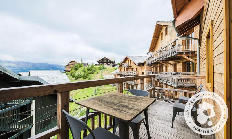 Location au ski Studio 2 personnes (Sélection -2) - Résidence les Mélèzes - Maeva Home - La Joue du Loup - Extérieur été