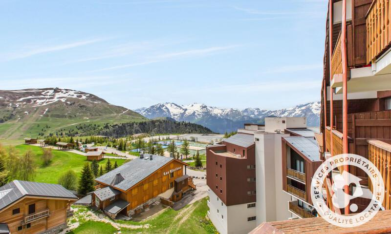 Аренда на лыжном курорте Апартаменты 2 комнат 6 чел. (30m²-7) - Résidence les Mélèzes - Maeva Home - Alpe d'Huez - летом под открытым небом