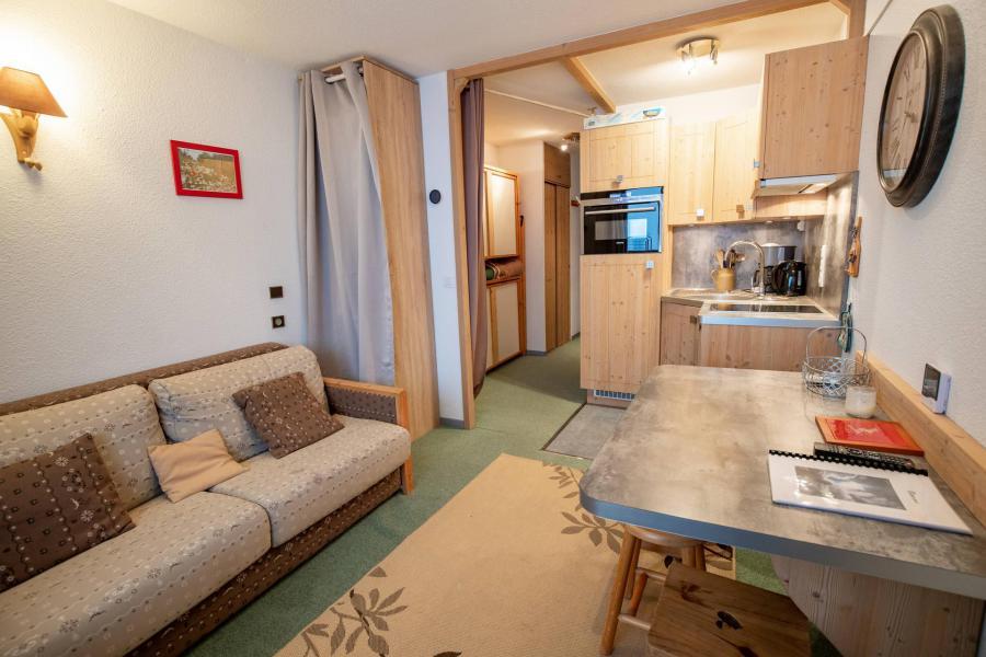 Vacances en montagne Studio 3 personnes (1109) - Résidence les Mélèzets 1 - Valfréjus - Logement