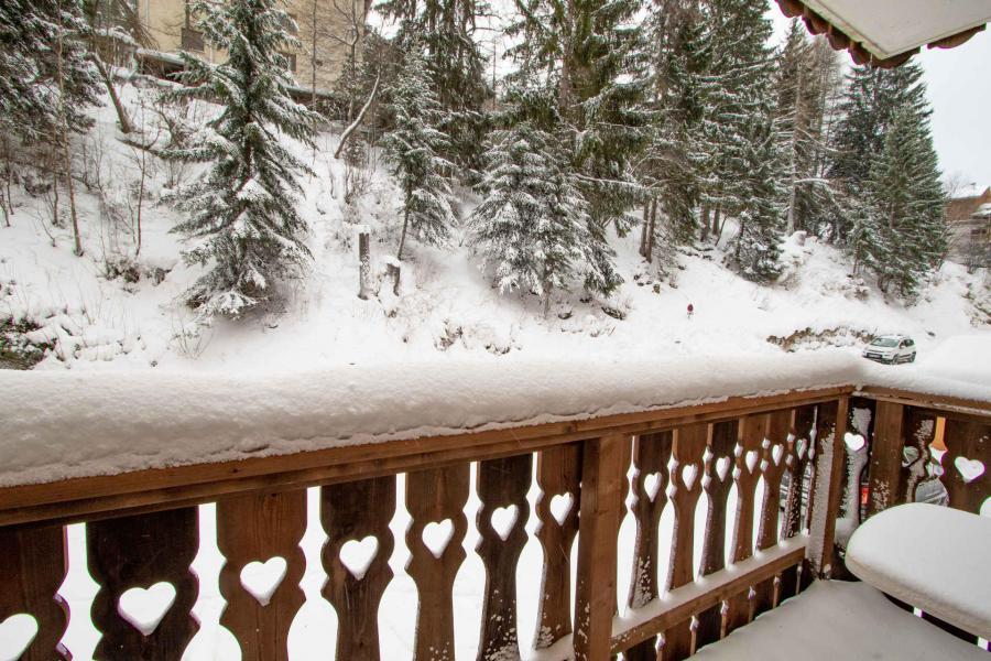 Location au ski Studio coin montagne 4 personnes (2102) - Residence Les Melezets 2 - Valfréjus - Extérieur été