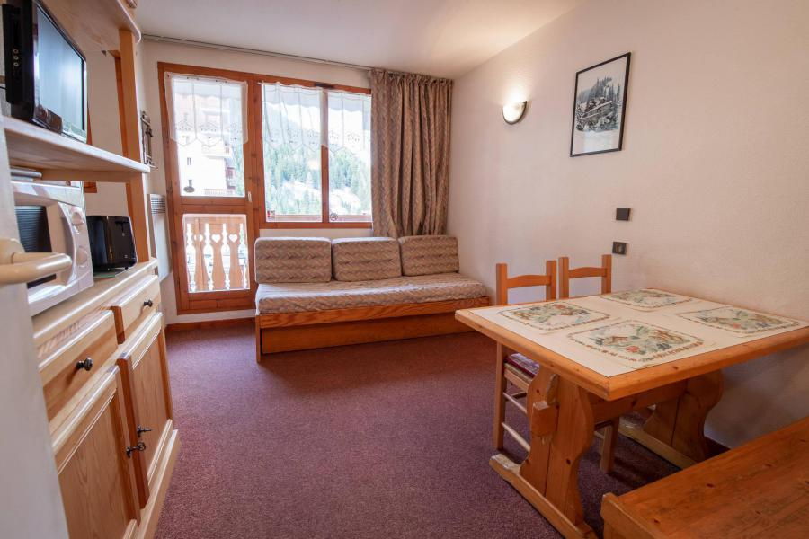 Vacances en montagne Studio cabine 4 personnes (2220) - Résidence les Mélèzets 2 - Valfréjus