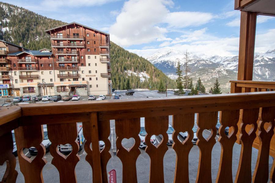 Holiday in mountain resort Studio cabin 4 people (2220) - Résidence les Mélèzets 2 - Valfréjus