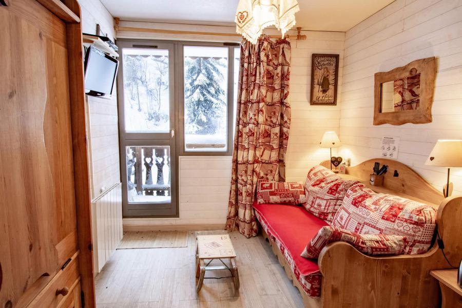 Vacances en montagne Studio coin montagne 3 personnes (2102) - Résidence les Mélèzets 2 - Valfréjus - Table