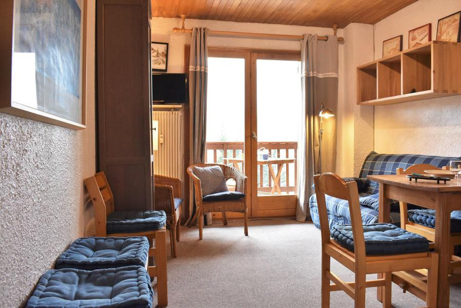 Holiday in mountain resort 2 room apartment 5 people (A12) - Résidence les Merisiers - Méribel - Living room