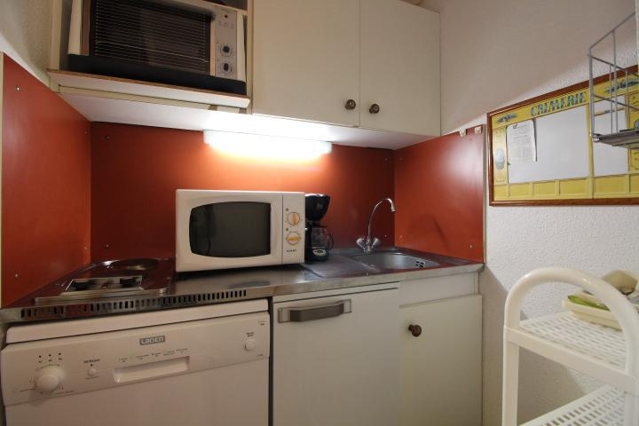 Holiday in mountain resort Studio cabin 4 people (39320) - Résidence les Michailles - Peisey-Vallandry