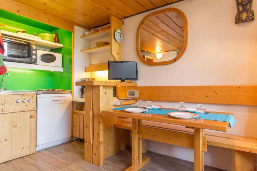 Vakantie in de bergen Studio mezzanine 5 personen (248) - Résidence les Mirantins - Les Arcs