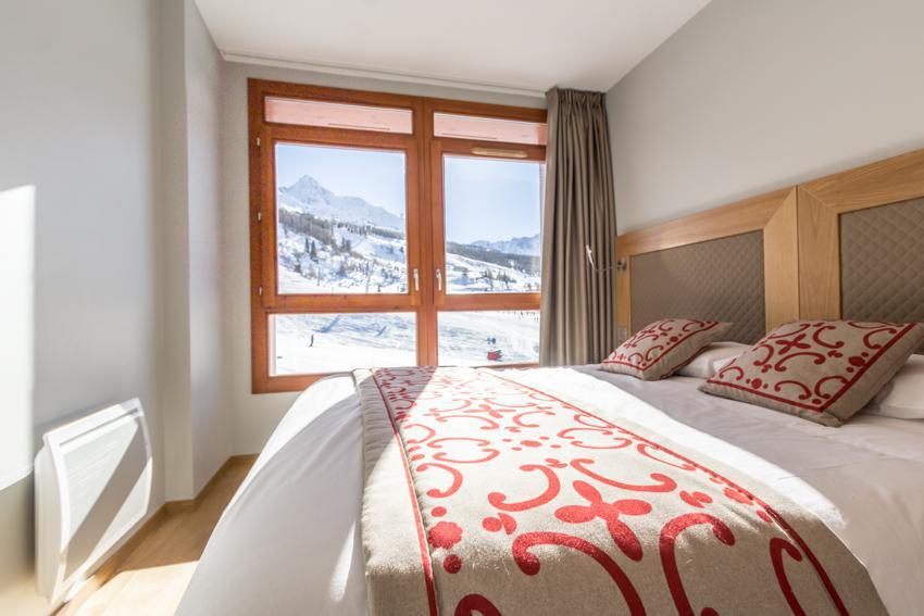 Каникулы в горах Апартаменты 4 комнат 6 чел. (301) - Résidence les Monarques - Les Arcs - Комната