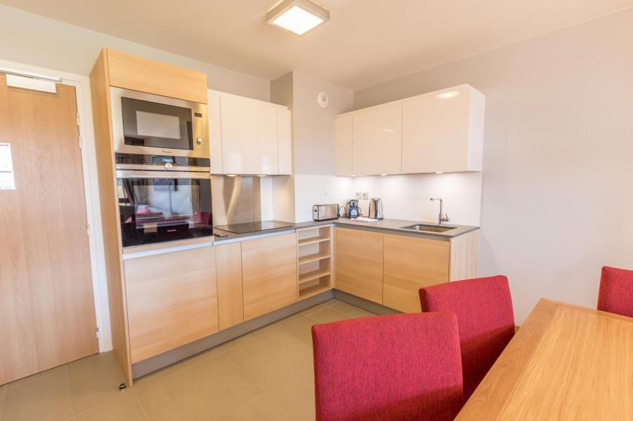 Каникулы в горах Апартаменты 4 комнат 6 чел. (601) - Résidence les Monarques - Les Arcs - Кухня