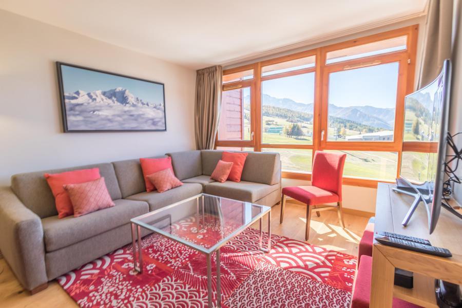 Каникулы в горах Апартаменты 4 комнат 6 чел. (601) - Résidence les Monarques - Les Arcs - Салон