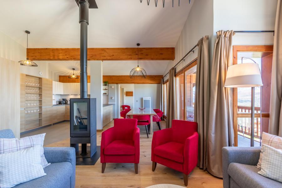 Каникулы в горах Апартаменты 6 комнат 10 чел. (1000) - Résidence les Monarques - Les Arcs - Сиденье банкетка