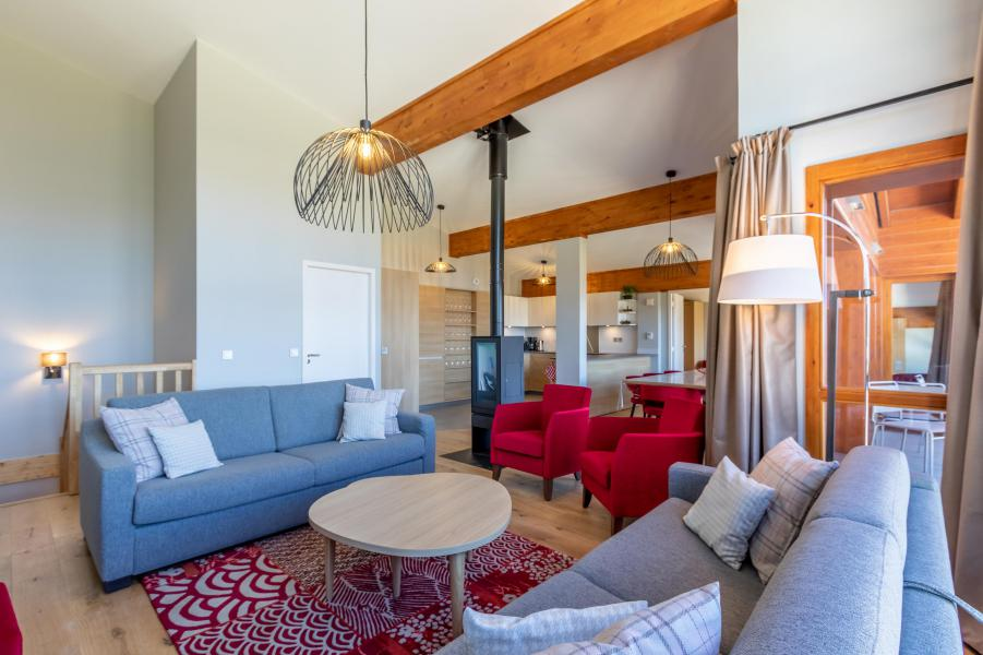 Каникулы в горах Апартаменты 6 комнат 10 чел. (1000) - Résidence les Monarques - Les Arcs - Салон