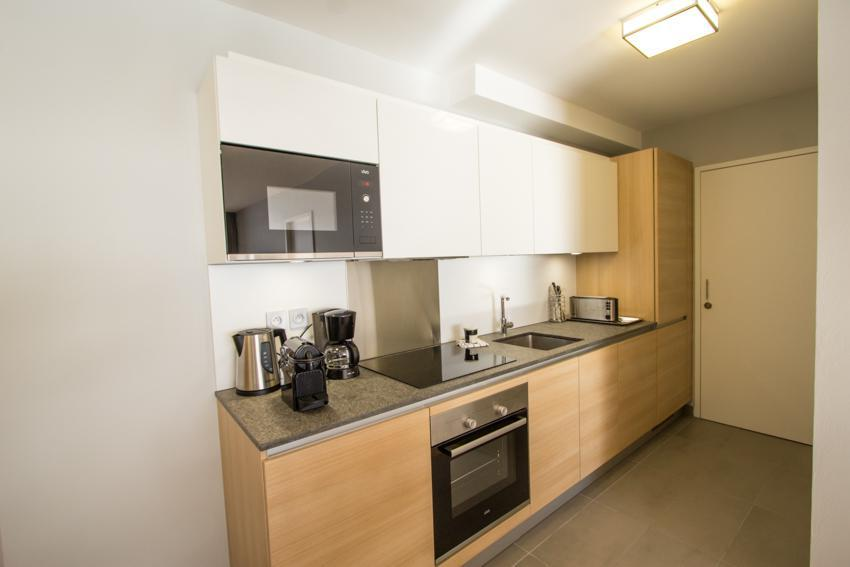 Wakacje w górach Apartament 4 pokojowy 6 osób (301) - Résidence les Monarques - Les Arcs - Kuchnia
