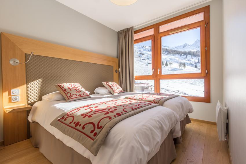 Wakacje w górach Apartament 4 pokojowy 6 osób (301) - Résidence les Monarques - Les Arcs - Pokój