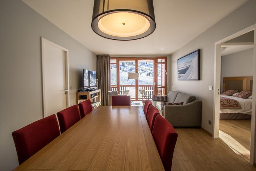Wakacje w górach Apartament 4 pokojowy 6 osób (301) - Résidence les Monarques - Les Arcs - Stołem