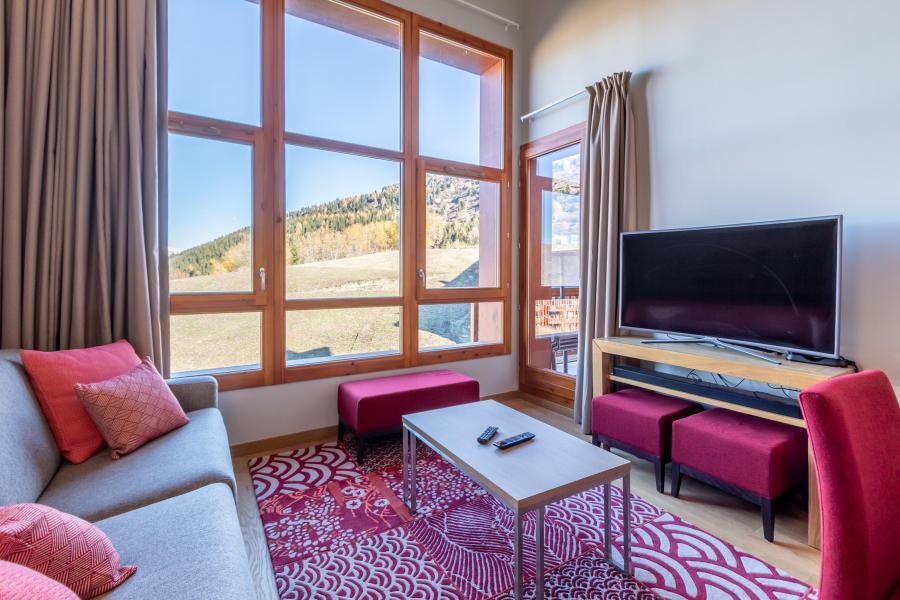Wakacje w górach Apartament 4 pokojowy 6 osób (702) - Résidence les Monarques - Les Arcs - Pokój gościnny