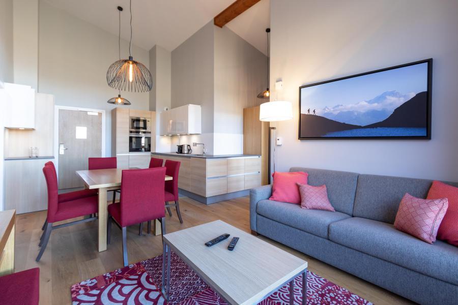 Wakacje w górach Apartament 4 pokojowy 6 osób (702) - Résidence les Monarques - Les Arcs - Sofą