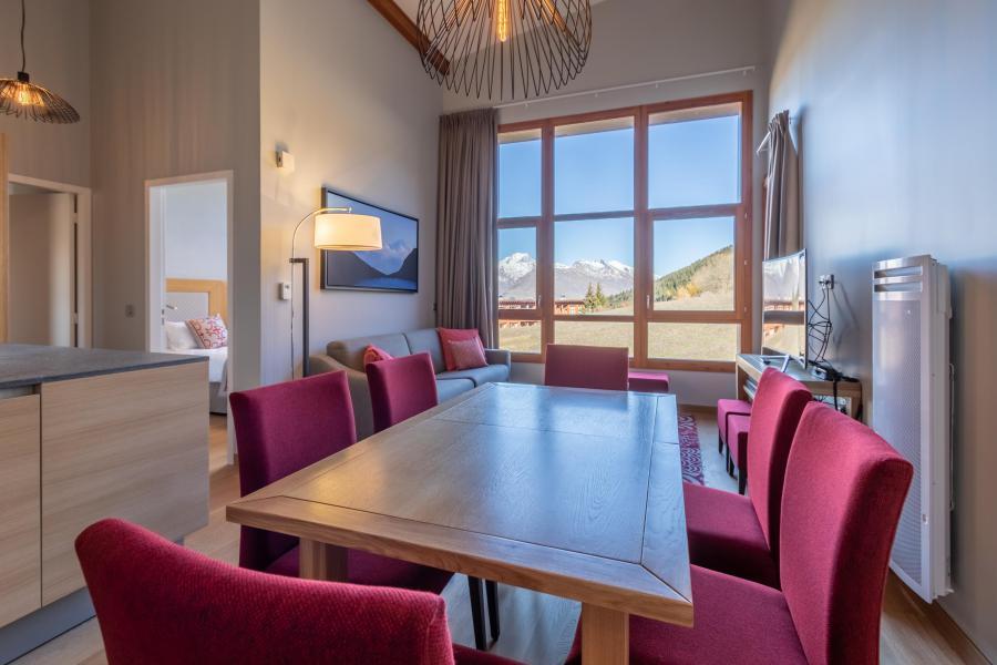 Wakacje w górach Apartament 4 pokojowy 6 osób (702) - Résidence les Monarques - Les Arcs - Stołem