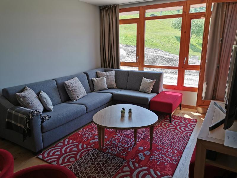 Wakacje w górach Apartament 4 pokojowy 6 osób (809) - Résidence les Monarques - Les Arcs - Ławką