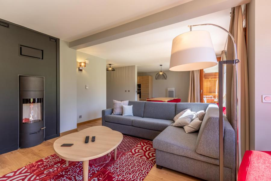 Wakacje w górach Apartament 4 pokojowy 8 osób (905) - Résidence les Monarques - Les Arcs - Ławką