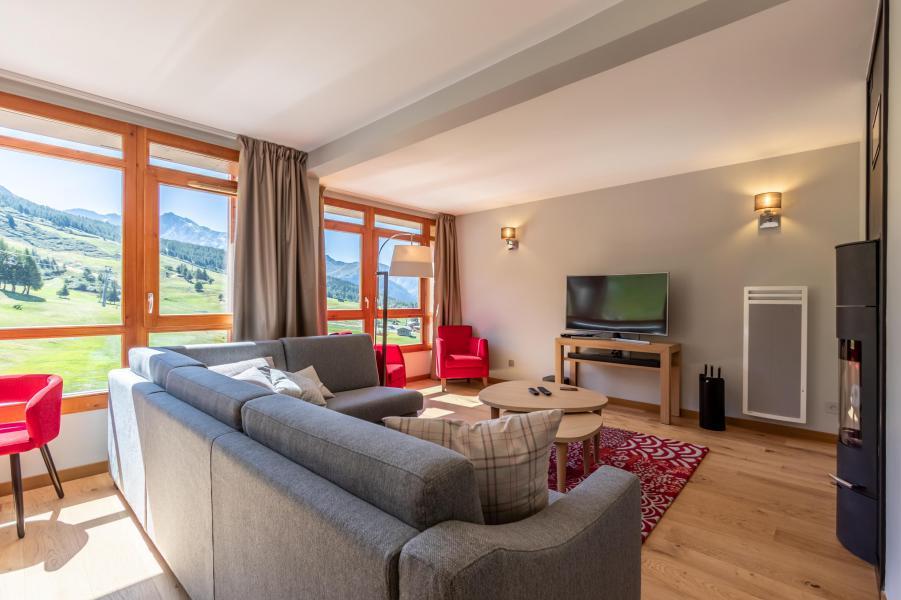 Wakacje w górach Apartament 4 pokojowy 8 osób (905) - Résidence les Monarques - Les Arcs - Sofą